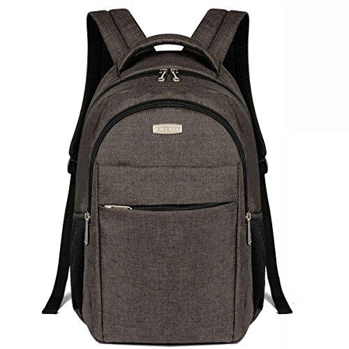 Advocator パソコン バックパック 人気 高校生 学生 iPad PC収納 多ポケット リュックサック 大容量 メンズ レディース ビジネスリュック