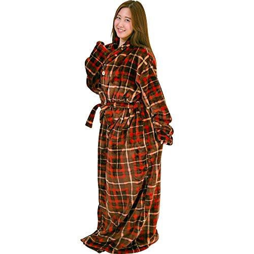 着る毛布 保温 洗える 静電気防止 とろける肌触り プレミア...