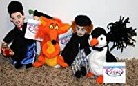 RareディズニーMary Poppins Completeセットof 4 beanバッグPlush Including Mary Poppins、フォックス、Bert、and Penguin Mint with Tags
