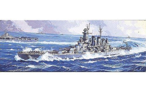 1/700 ウォーターライン No.611 アメリカ海軍戦艦 ノースカロライナ