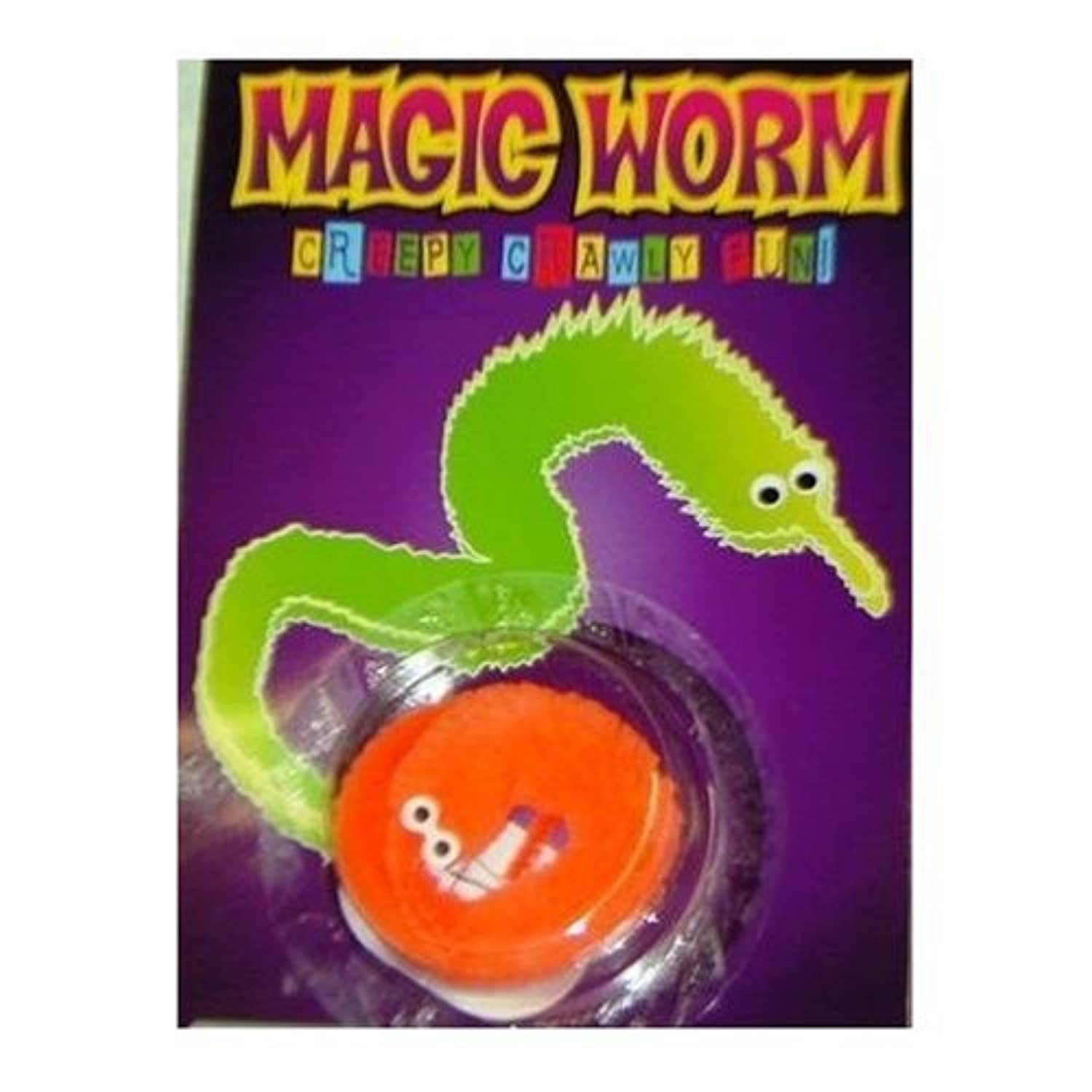 Magic Wiggly Worm (Sold individually color will vary) [並行輸入品]