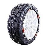 AMAJR-Shop 冬用 非金属タイヤチェーン 簡単装着 雪道 凍結 スリップ 事故 悪路 防止 JRXL2適応タイヤー:255/55R18 255/60R18 255/50R19 245/55R19 245/60R18 235/75R16 235/65R18 255/60R17