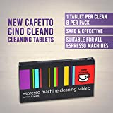 NEW CAFETTO CINO CLEANO CLEANING TABLETS Espresso Coffee Machine Cleaner