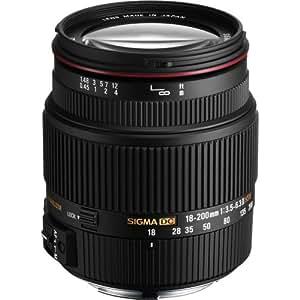 SIGMA 高倍率ズームレンズ 18-200mm F3.5-6.3IIDC OS HSM ニコン用 APS-C専用