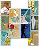 Quotable Shakespeare教育ラミネート加工ポスターシリーズ。環境に優しい、英語文学Art Prints。Featuring : Caesar、Hamlet、Tempest、マクベス、リア王、Othello、ロメオとジュリエット、Twelfth Night、ベニスの商人、とキングRichard III