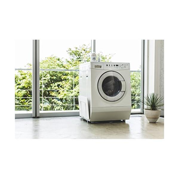 山崎実業 マグネット 洗濯機横 珪藻土バスマッ...の紹介画像5