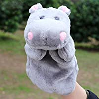 Wukong Hippo Hand Teaching storytelling Small Animal Plush Cartoon手おもちゃ親子人形