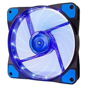 アイネックス LED搭載 ケース用ファンアイネックス 120mm ブルー SC-120-B