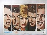 1961年映画パンフレット オーシャンと十一人の仲間 ルイス・マイルストン監督 フランク・シナトラ ディーン・マーチン サミー・デ..