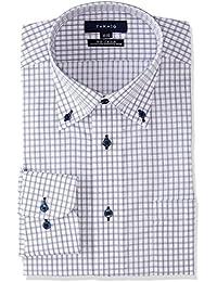 [タカキュー] Taka-Q 形態安定 レギュラーフィット ボタンダウンシャツ メンズ 110214619276833