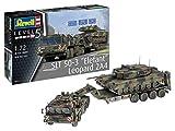 ドイツレベル 1/72 ドイツ陸軍 SLT50-3 エレファント & レオパルド2A4 プラモデル 03311