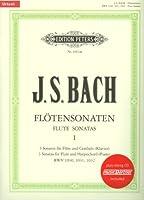 BACH - Sonatas Vol.2: nコ 4 a 6 para Flauta y Piano (Urtext) (Soldan) (Inc.CD)
