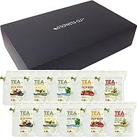 グロワーズカップ(GROWERS CUP) TEA BREWER 10パック入りギフトボックス フレーバーティー ノンカフェイン 紅茶