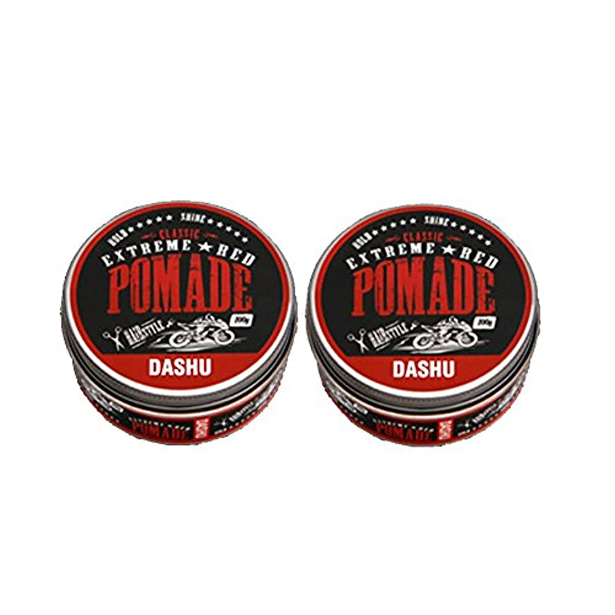 平和なマイクロイル(2個セット) x [DASHU] ダシュ クラシックエクストリームレッドポマード Classic Extreme Red Pomade Hair Wax 100ml / 韓国製 . 韓国直送品