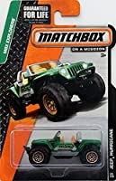 Matchbox MBX Explorers Jeep Hurricane Green #64/120