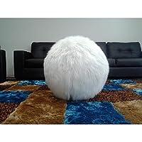 CHIC RUGZ 26 InchWhiteBouncyBall Slipcover Yoga Ball with Inner Yoga Bouncy Ball White 26 [並行輸入品]