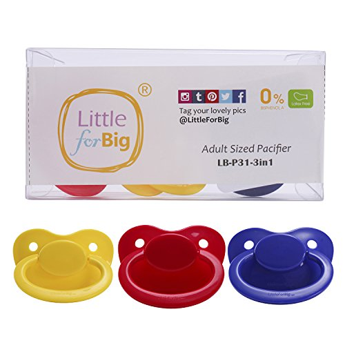 LittleForBig 大人用おしゃぶり乳首 ABDL 3個セット
