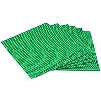 EMY 基礎板 ブロック プレート クラシック 互換性 32×32ポッチ 6枚セット グリーン