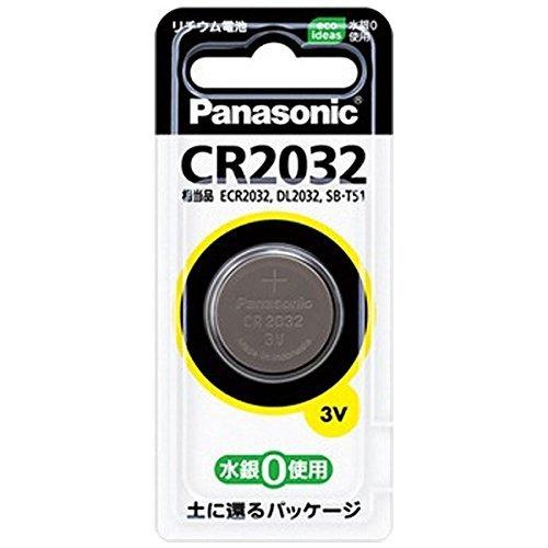 パナソニック コイン形リチウム電池 CR2032P