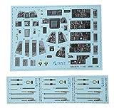 クインタスタジオ 1/48 グラマン F-14D 内装3Dデカール (AMK用) プラモデル用デカール QNTD48074