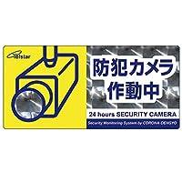 コロナ電業 防犯カメラ イエロー 本体サイズ: 9.9 × 21 cm SA-02HL