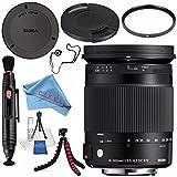Sigma 18–300mm f / 3.5–6.3DCマクロOS HSM Contemporaryレンズfor Nikon F 886306+ 72Mm Uvフィルタ+レンズペンクリーナー+ F..