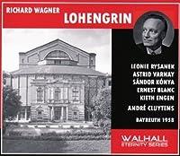 Wagner: Lohengrin by Leonie Rysanek, Astrid Varnay, Ernest Blanc, Engen, Waechter, Cluytens, Bayreuth 1958 Sandor Konya (2009-01-05)