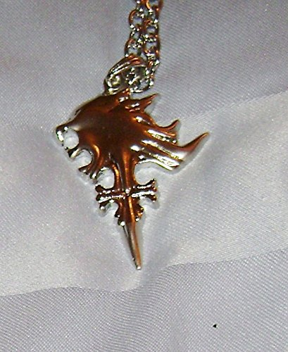 Cosplay costume prop final fantasy squall / Lionheart necklace FINAL FANTASY FF8
