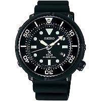 【1本用保管時計ケース・マイクロファイバーセット】[プロスペックス]PROSPEX 腕時計 ソーラー LOWERCASEプロデュース ダイバースキューバ ブラック文字盤 SBDN049 メンズ