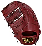 ZETT(ゼット) 野球 硬式 ファースト ミット プロステイタス (左投げ用) BPROFM23 ボルドーブラウン