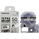 キングジム テープカートリッジ テプラPRO マグネットテープ 白 50mm SJ50S