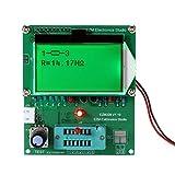KKmoon EZM328 128*64 LCDトランジスタテスター 方形波発生器 ダイオードESR MOS PNP NPN L/C/R周波数計方形波発生器