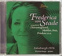 Frederica Von Stade: Song Recital Edinburgh 1976