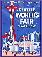 1962Seattle Washington World 's Fairアメリカ旅行広告ポスター2