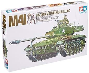 タミヤ 1/35 ミリタリーミニチュアシリーズ No.55 アメリカ陸軍 軽戦車 M41 ウォーカーブルドック プラモデル 35055