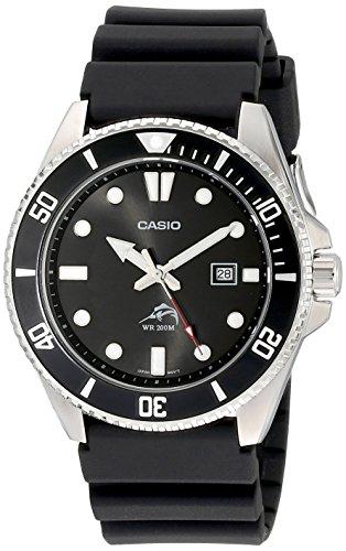 [カシオ]CASIO 腕時計 ダイバーウォッチ MDV-106-1AV ブラック メンズ 海外モデル [逆輸入]