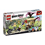 LEGO Angry Birds 75823 Bird Island Egg Heist, Includes 3 figures: Red, Matilda and Biker Pig