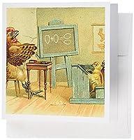 TNMGraphicsの動物Chickens–グリーティングカード–の実態 Set of 6 Greeting Cards
