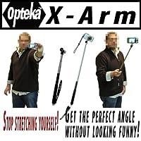 Opteka x-armカメラExtenderハンドヘルド一脚( 37インチ)まで延長for Nikon Coolpix l22s1000pj s4000s570s60s70s630s3000s8000s6000s8000l20l22s630Perfect for Self Portraits