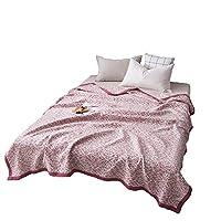寝具カバー 夏と通年水分吸湿発散性、通気性クールでクールな睡眠のためのキルトブランケット冷却技術 L.Z.H (Color : レッド, Size : 180x220cm)