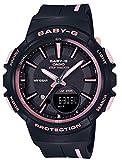 [カシオ] 腕時計 ベビージー フォーランニング BGS-100RT-1AJF レディース ブラック