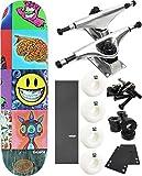 "Santa Cruz Skateboards英語Iプロパガンダスケートボード8"" x 31"" Complete Skateboard–7項目のバンドル"