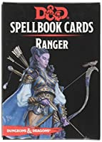 Dungeons & Dragons: Spell Book Cards: Ranger Deck Card Game (8 Players)