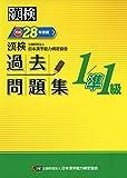漢検 1/準1級 過去問題集 平成28年度版