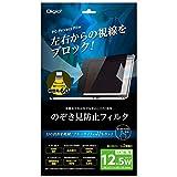 Digio2 PC 用 のぞき見防止 フィルター 12.5インチワイド 16:9 SF-FLGPV125W
