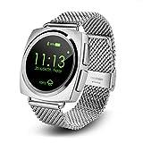 アディダス 腕時計 Bluetooth スマートウォッチ アンドロイド iphone 対応 ステンレス製 金属 心拍計 万歩計 歩数計 通話 SMS 音楽 搭載心電図 録音 多機能 腕時計 日本語対応