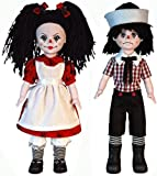 Living Dead Dolls Rotten Sam and Sandyのセット2