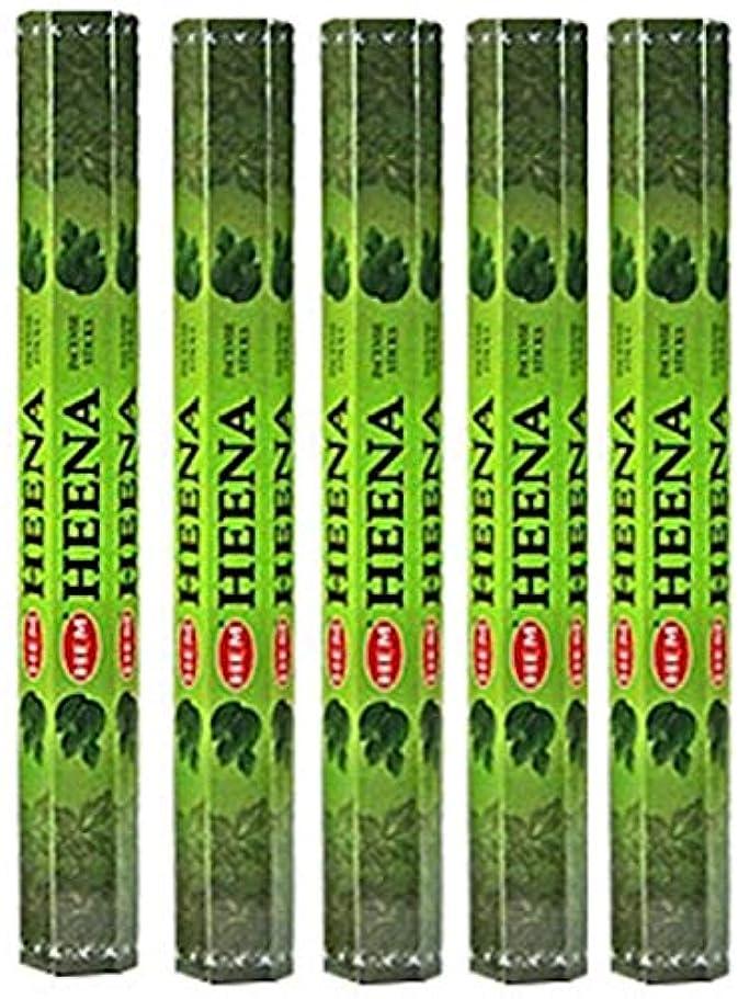 あらゆる種類の制約ママHem Heena 100 Incense Sticks (5 x 20スティックパック)