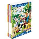 ナカバヤシ ポケットアルバム5冊BOX ミッキー&フレンズ キャラクター ア-PL-1021-1