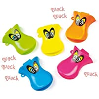 Duck Whistles for Children to Play Perfect Party Bag stuffer Small Gift Idea for Kids (Pack of 6) by Baker Ross